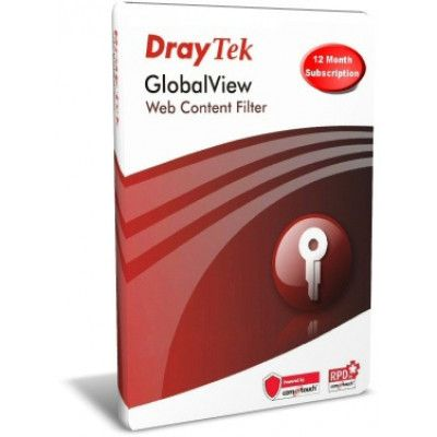 GlobalView Web Filtering (12 Months, Group A, Soft Copy)